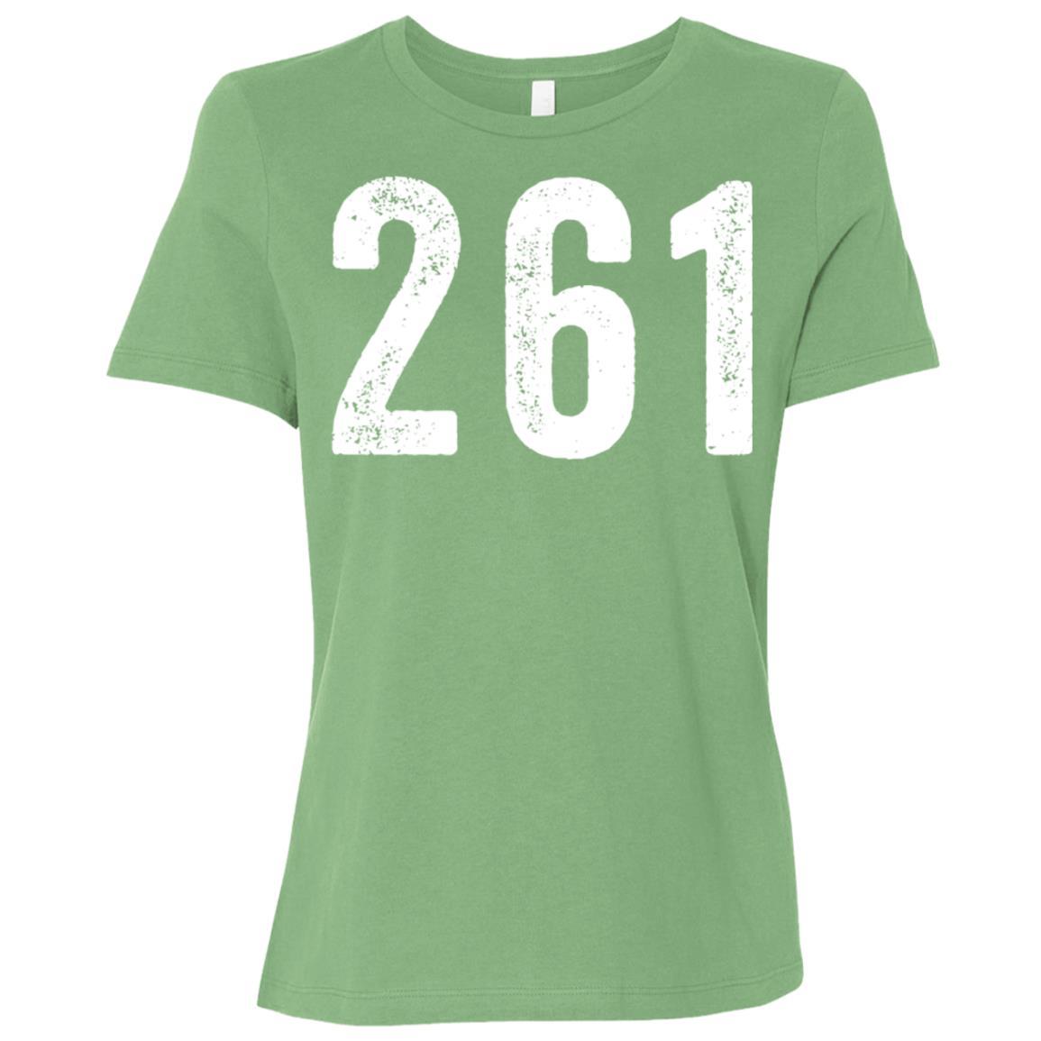 261 – Feminist Running Women Short Sleeve T-Shirt