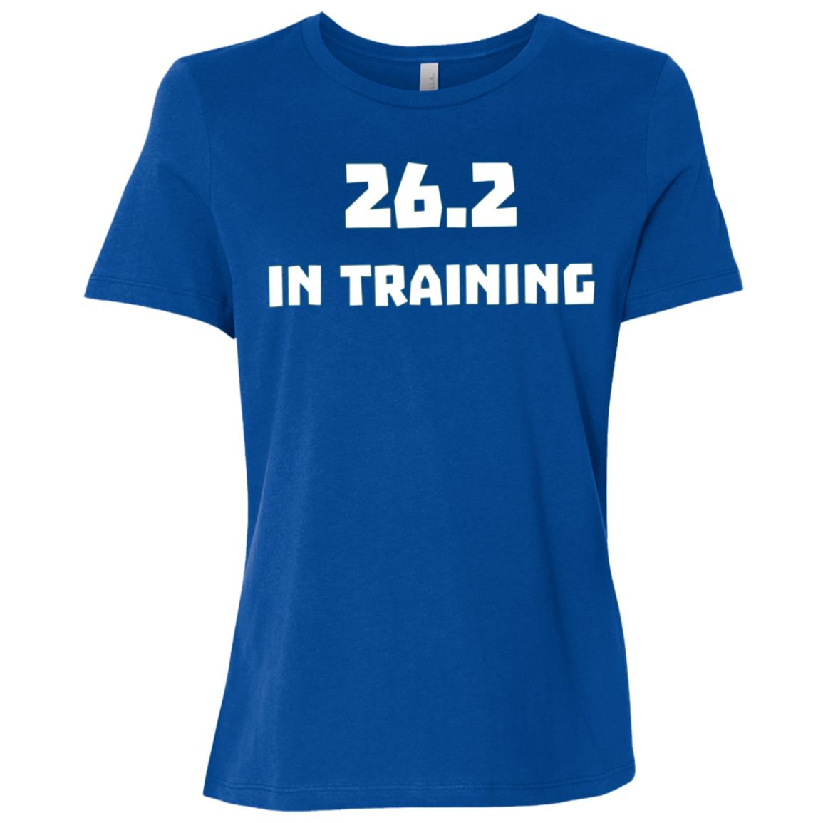 26.2 In Training Runner Running Marathon Race 2018 Women Short Sleeve T-Shirt