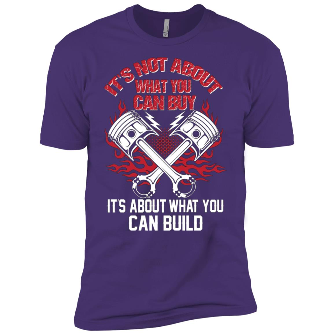 Hot Rodder – It's about what you can build Men Short Sleeve T-Shirt