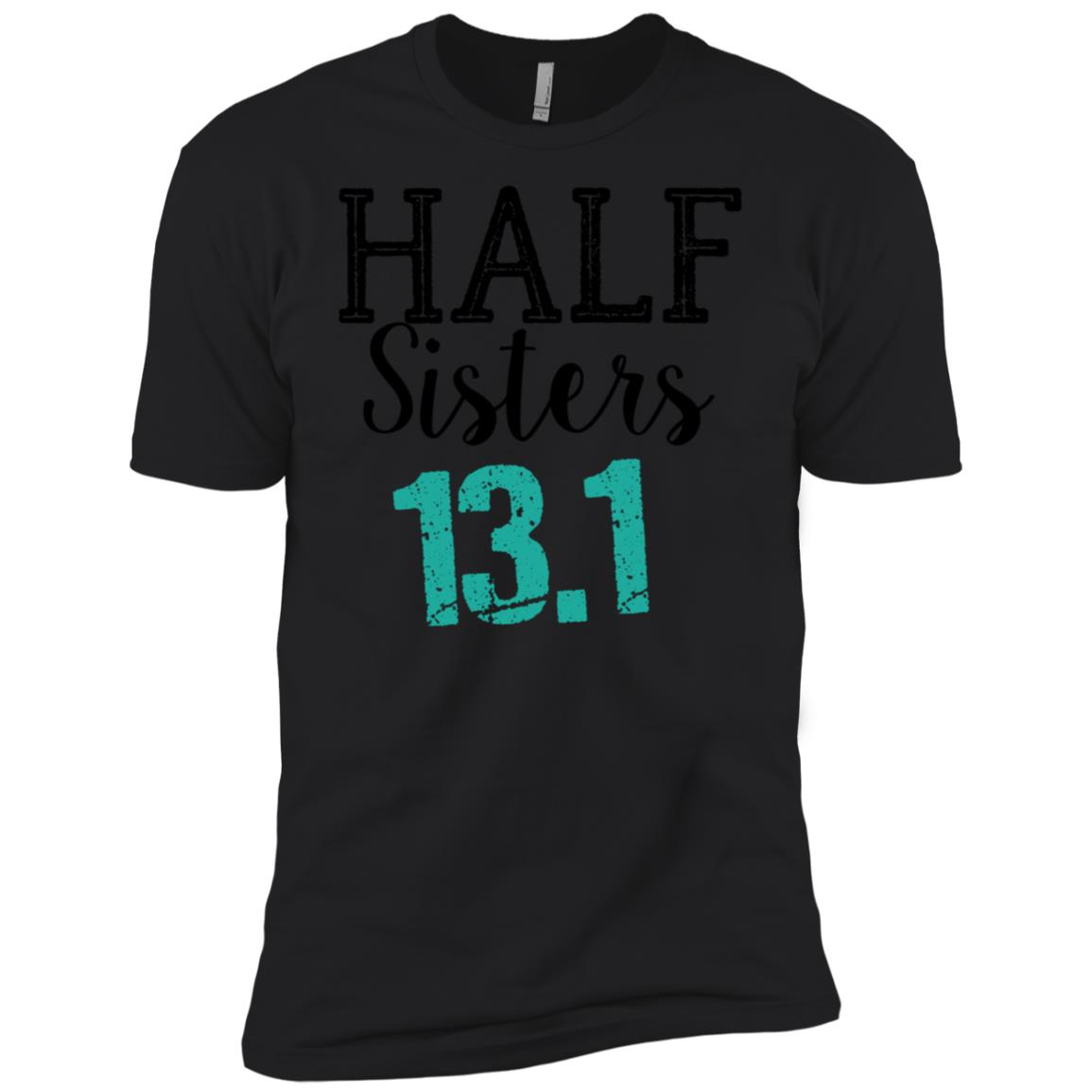 Half Marathon Sisters 13.1 Running Men Short Sleeve T-Shirt