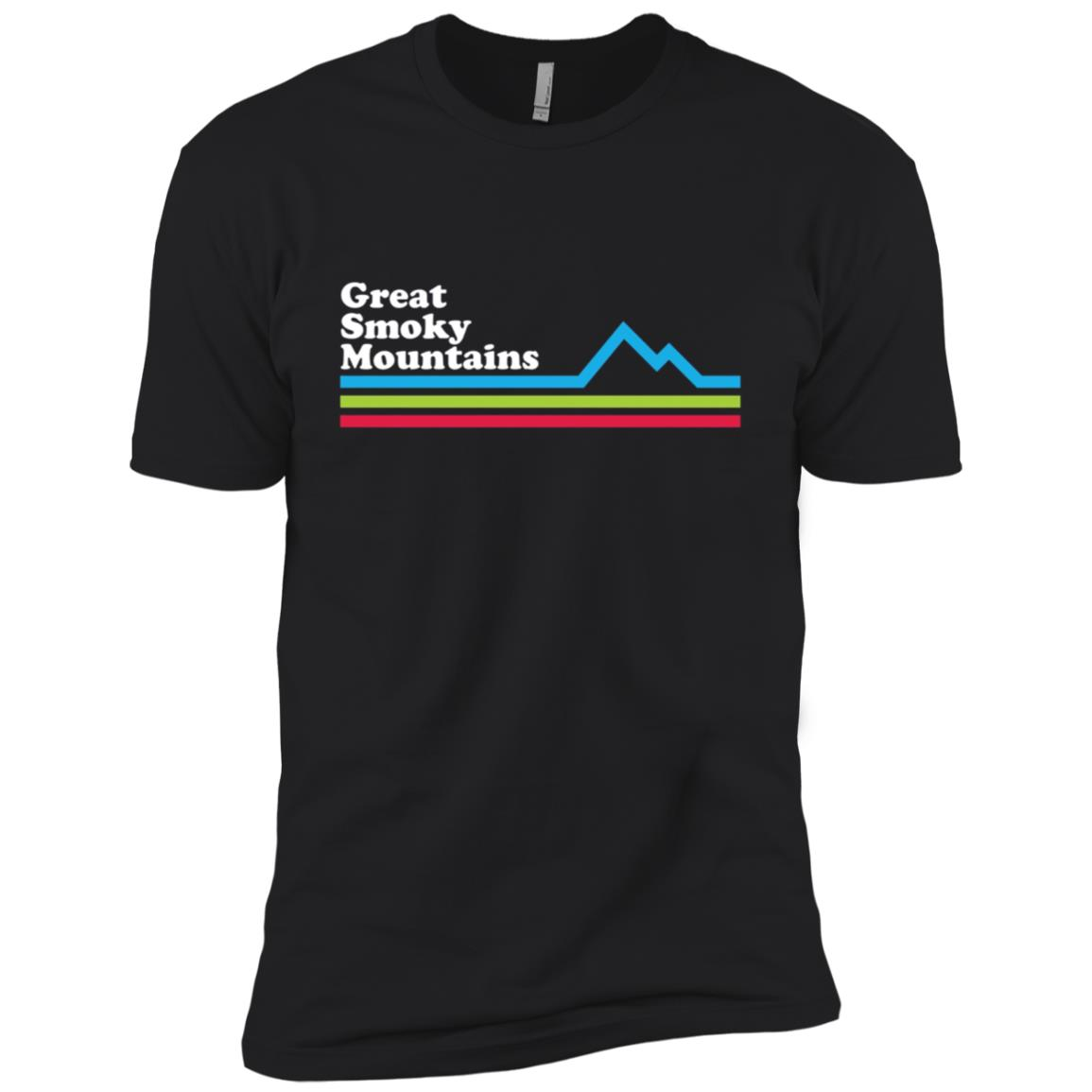 Great Smoky Mountains National Park Men Short Sleeve T-Shirt