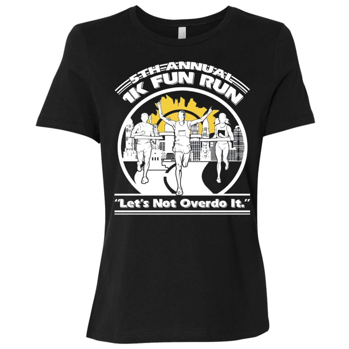 1K Fun Run 5th Annual Women Short Sleeve T-Shirt