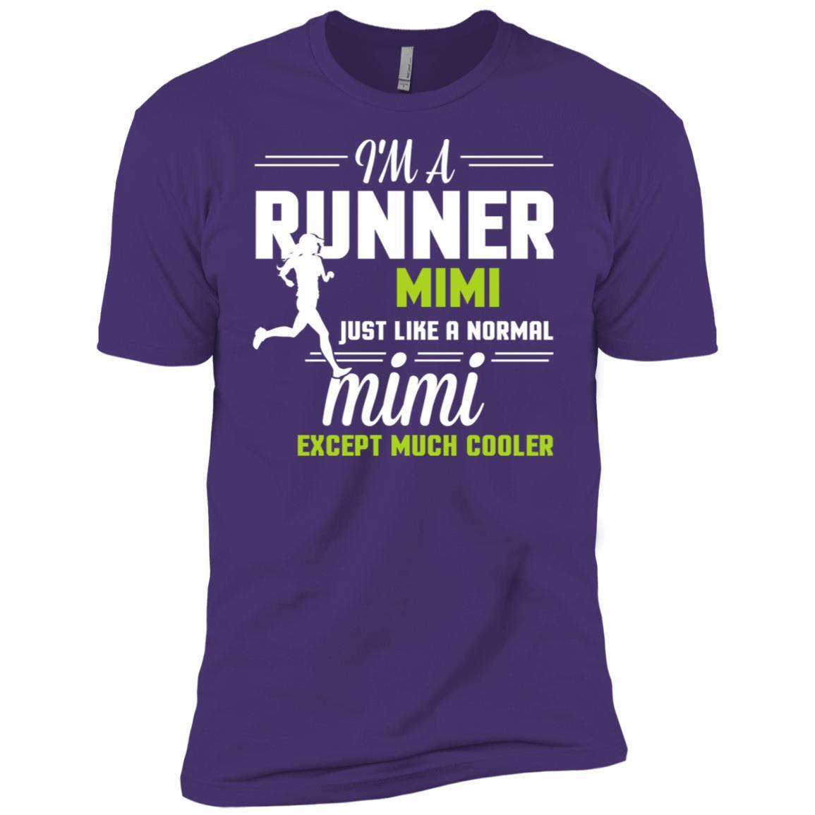 I'm A Runner Mimi Excep Much Cooler Men Short Sleeve T-Shirt