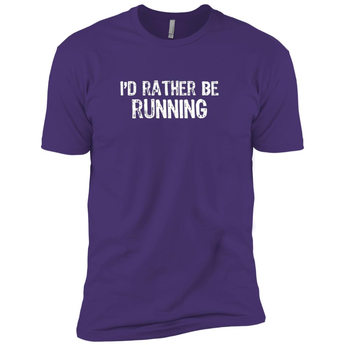 I'd Rather Be Running Men Short Sleeve T-Shirt