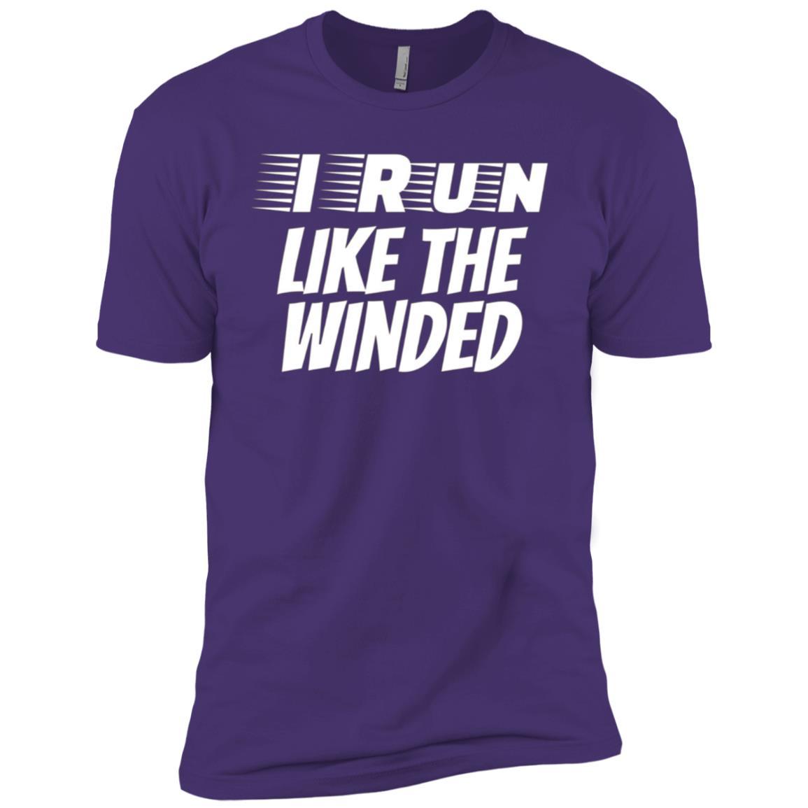 I Run Like the Winded Funny Runner Men Short Sleeve T-Shirt