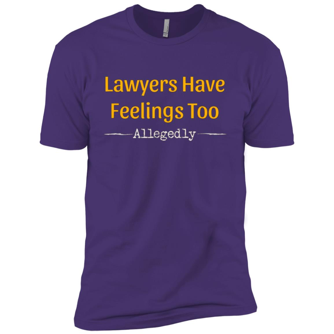 Lawyers Have Feelings Too Allegedly Gift Men Short Sleeve T-Shirt
