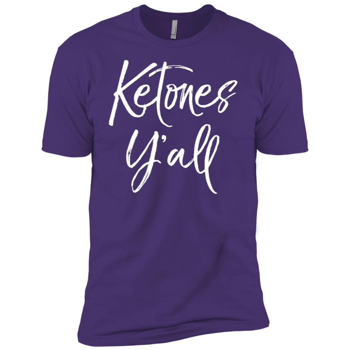 Ketones Y'all Fun Cute Southern Keto Diet Funny Tee Men Short Sleeve T-Shirt