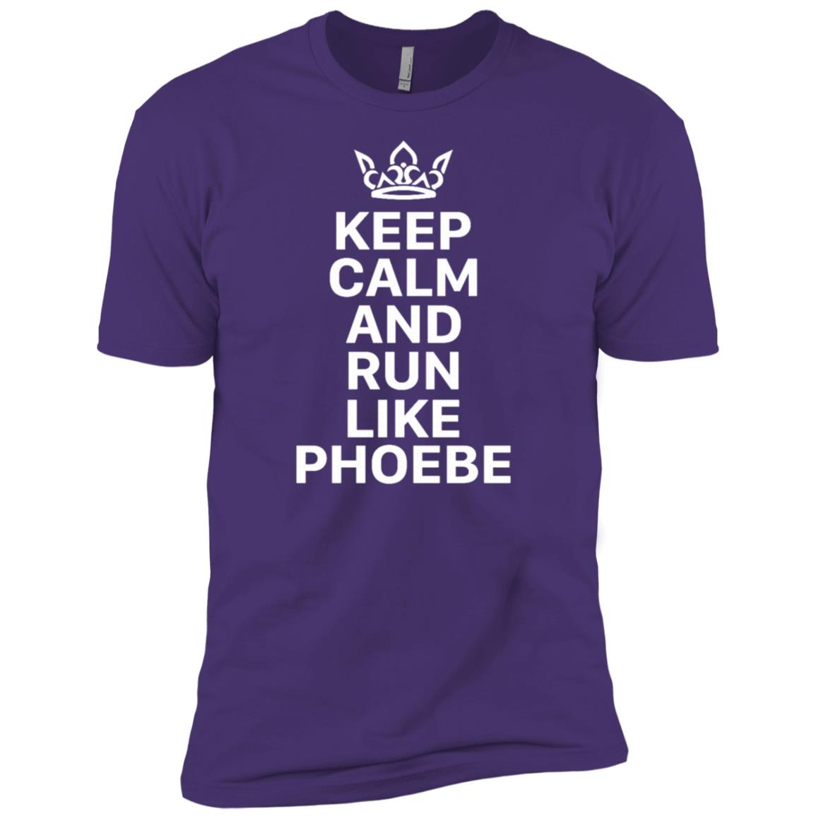 Keep Calm And Run Like Phoebe Men Short Sleeve T-Shirt