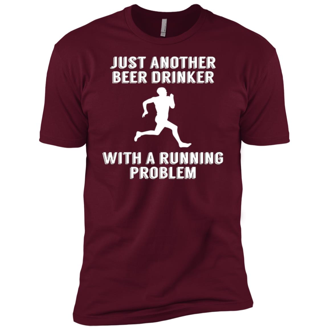 Just Another Beer Drinker With A Running Problem Men Short Sleeve T-Shirt