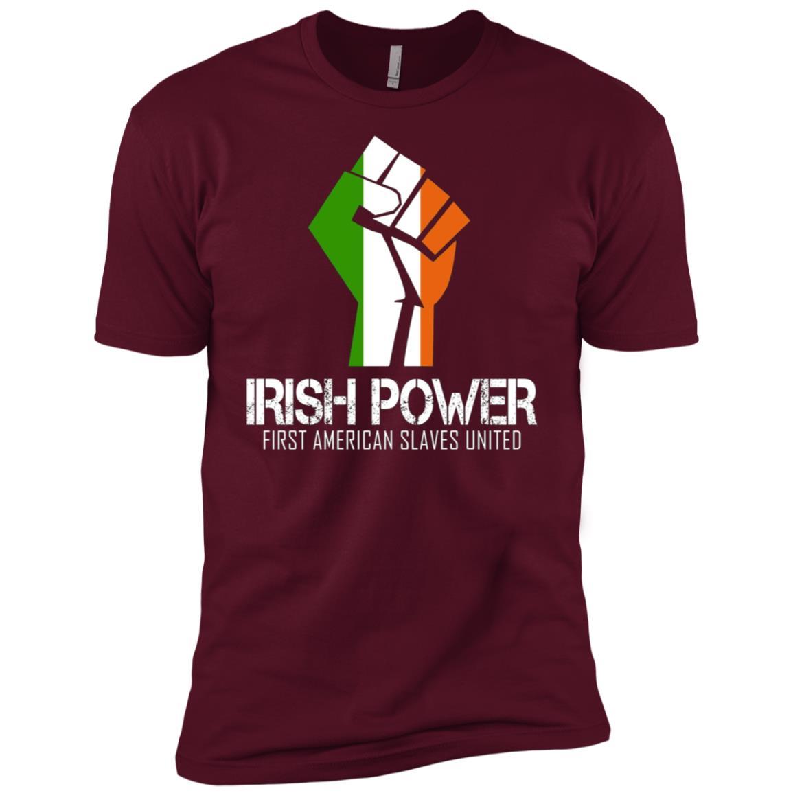 Irish power American slaves united – Cool saying Men Short Sleeve T-Shirt
