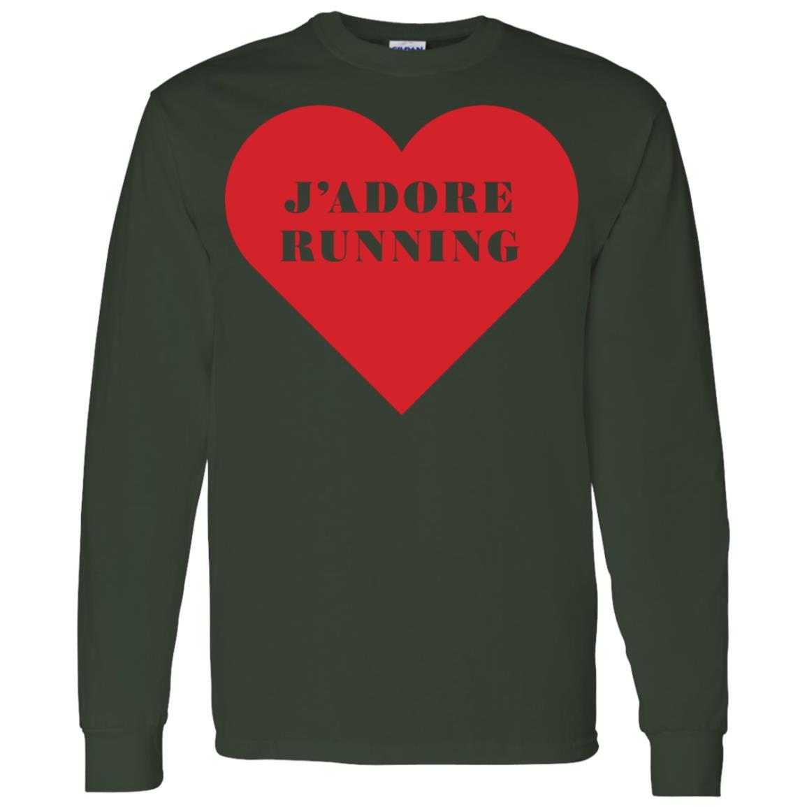 J'Adore Running -1 Men Long Sleeve T-Shirt
