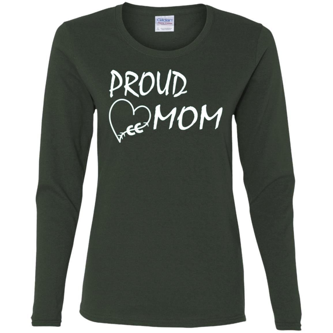 Long Distance Runner Proud Mom Cross the Country Women Long Sleeve T-Shirt