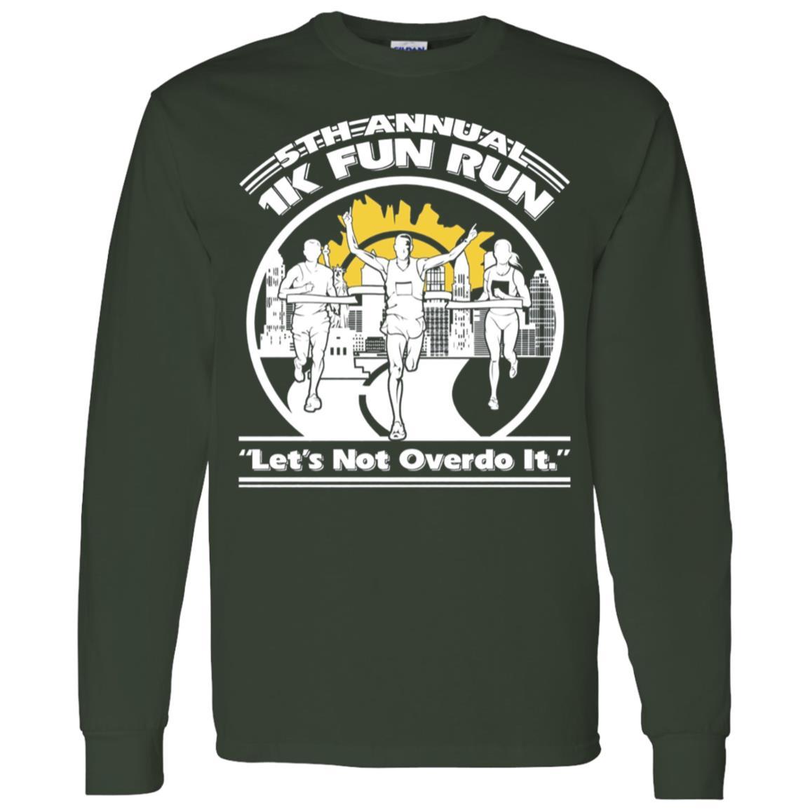 1K Fun Run 5th Annual Men Long Sleeve T-Shirt