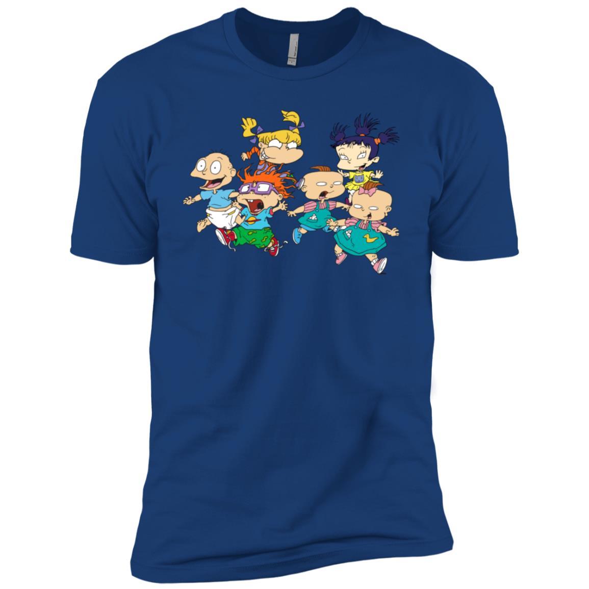 Nickelodeon Running Rugrats Men Short Sleeve T-Shirt