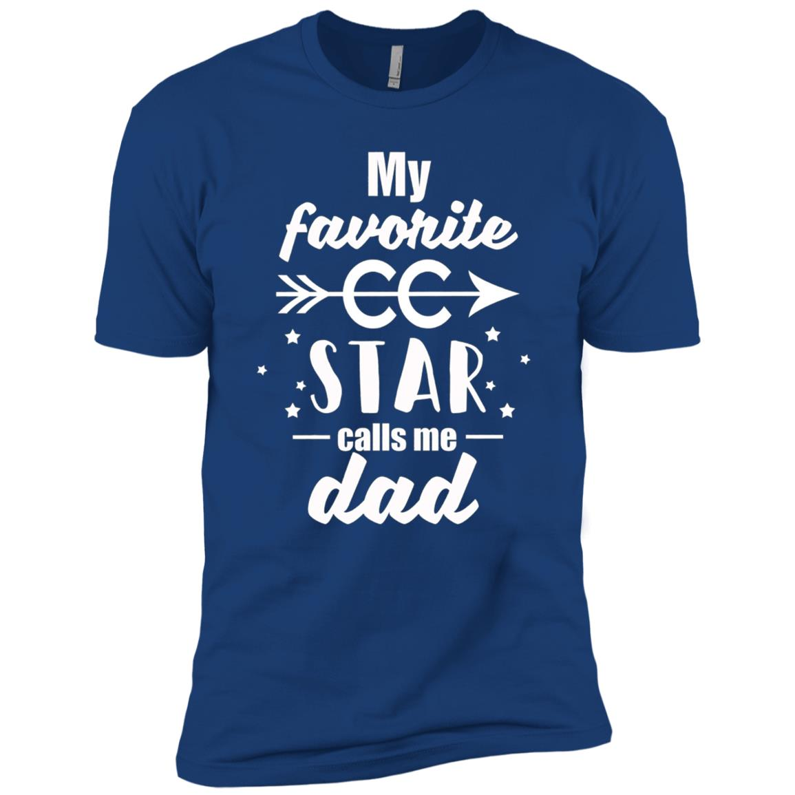 Proud Dad of a Cross Country Runner Men Short Sleeve T-Shirt