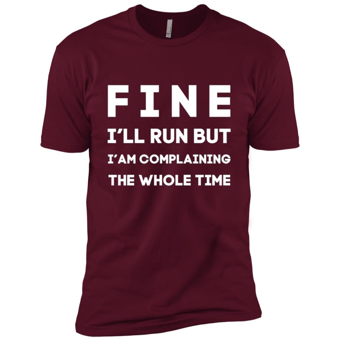 Ok Fine I'll Run But I'm Going To Complain Funny Men Short Sleeve T-Shirt