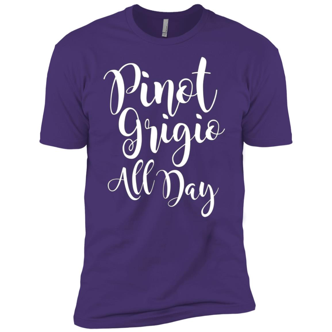 Pinot Grigio White Wine lover – Pinot Grigio All Day Men Short Sleeve T-Shirt