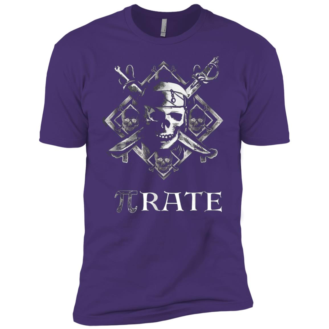 PI rate Pirate Funny Cool Math Geek Nerd Gift Men Short Sleeve T-Shirt