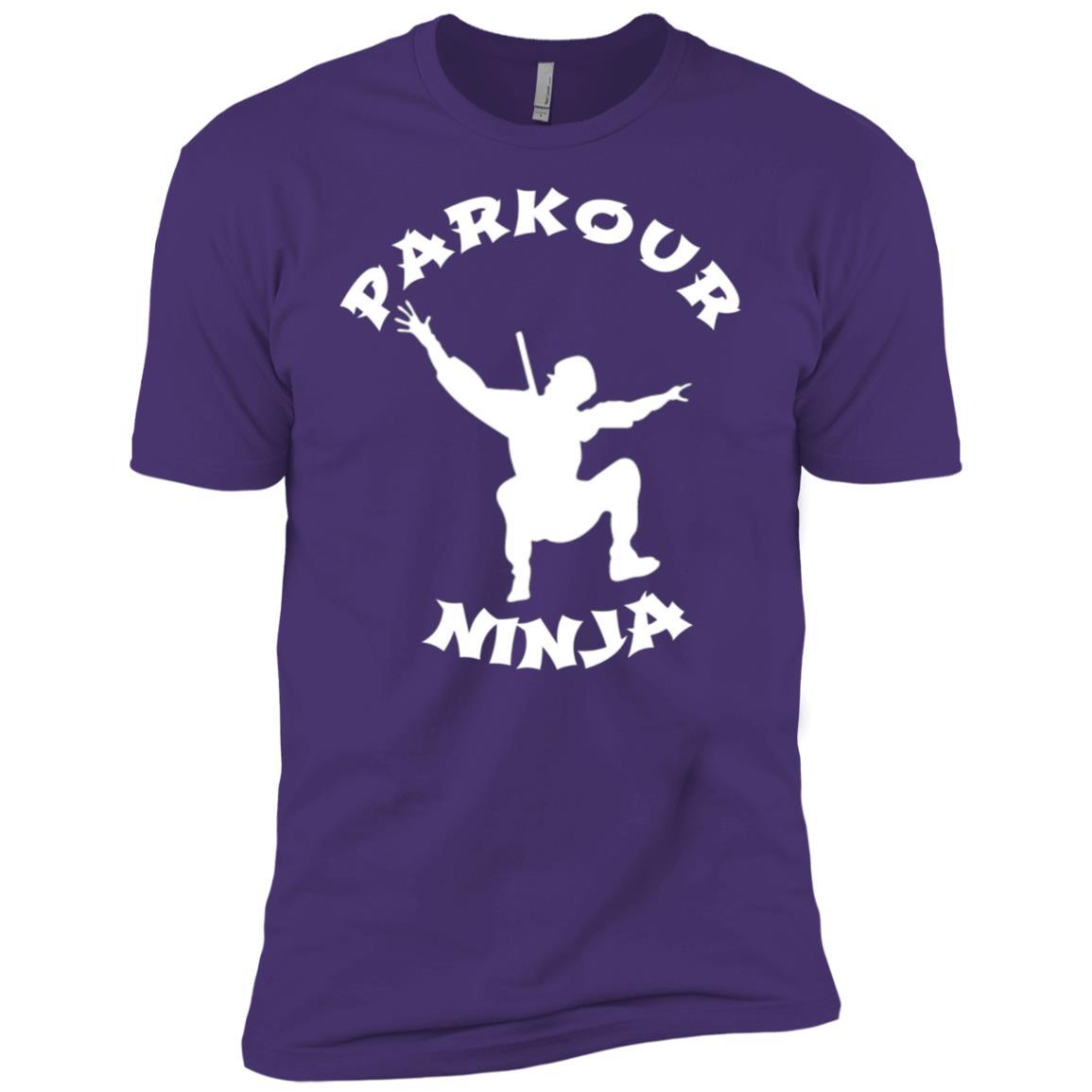 PARKOUR NINJA Free Running Kids Boys Men Short Sleeve T-Shirt