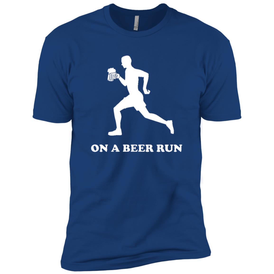 On a beer run Men Short Sleeve T-Shirt