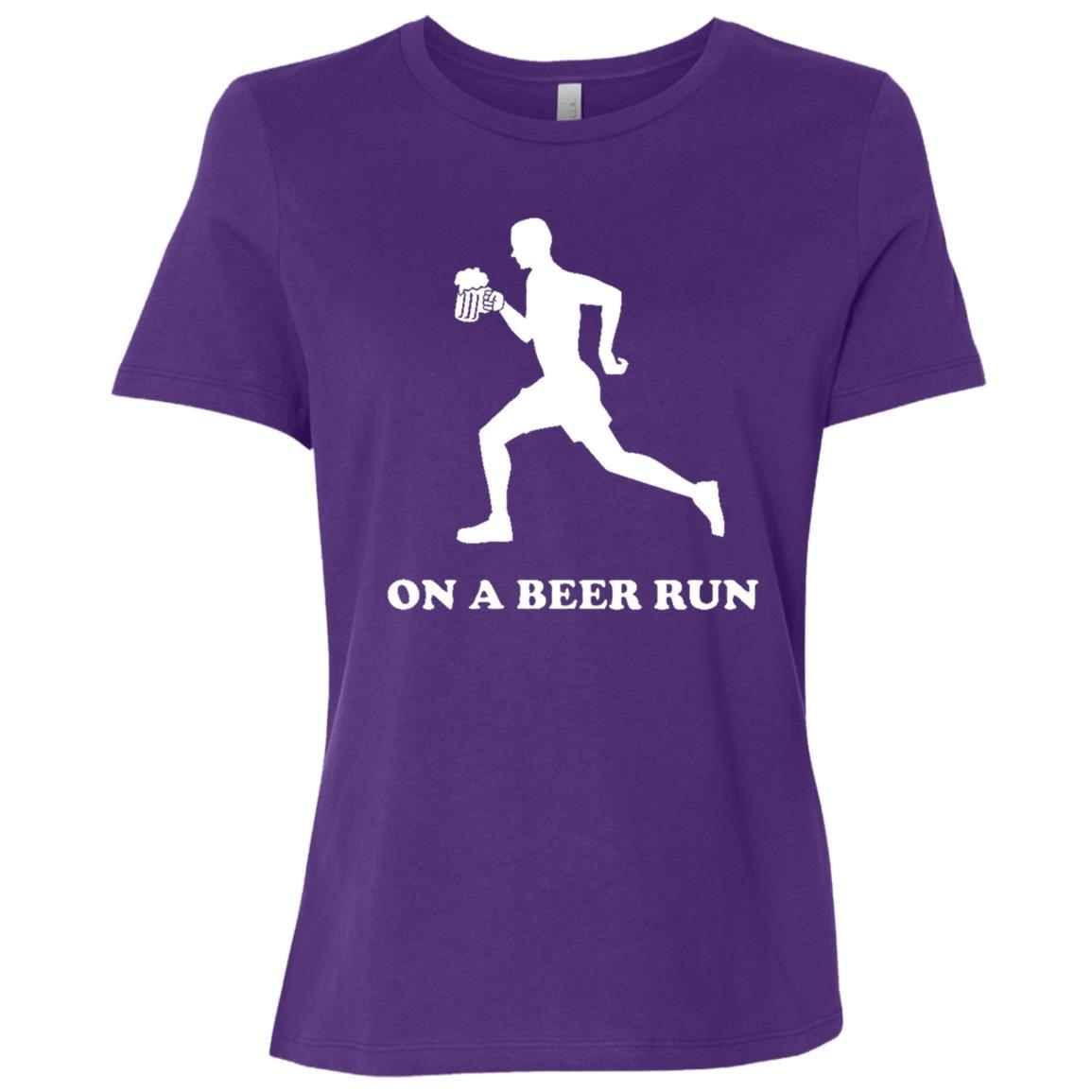 On a beer run Women Short Sleeve T-Shirt