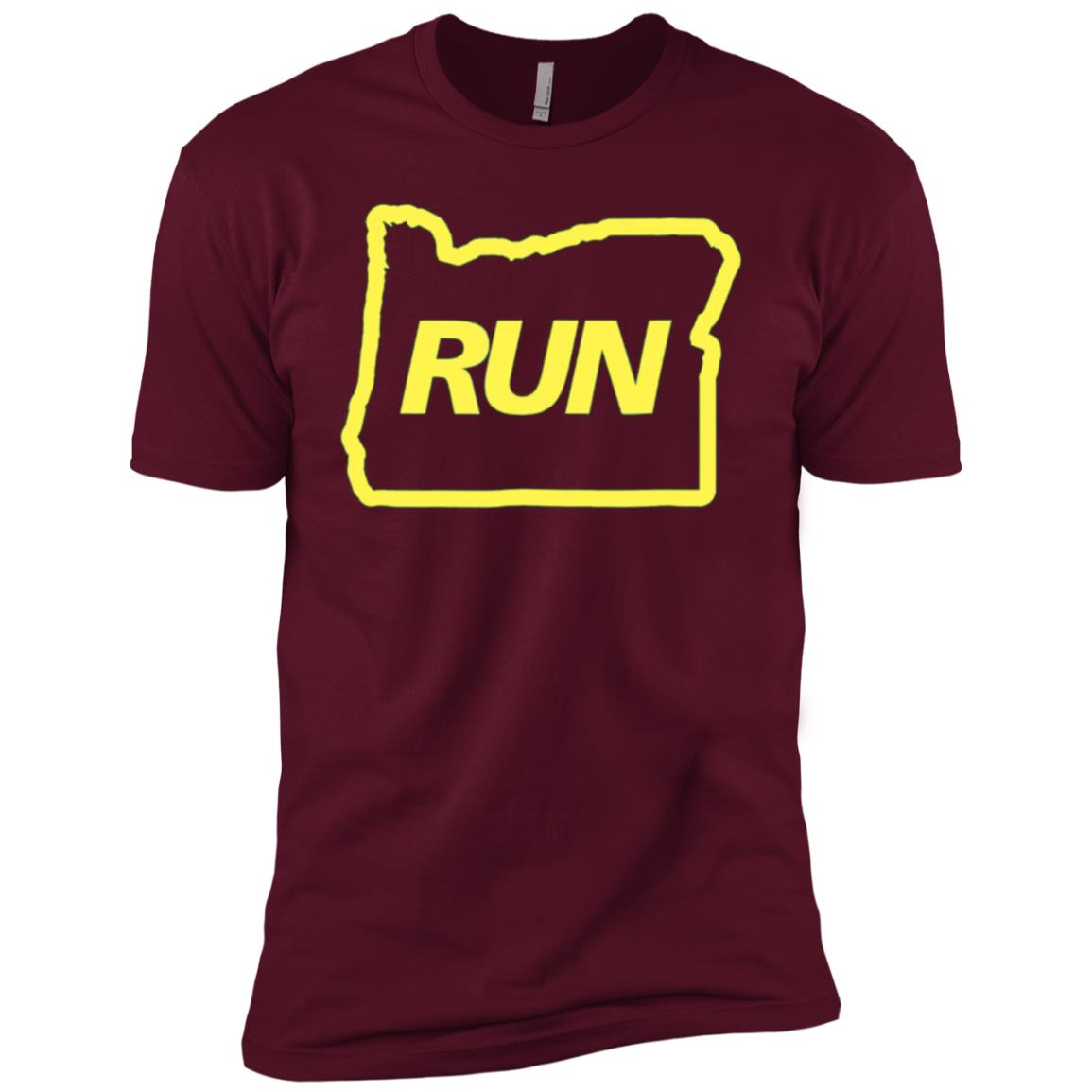 Run Oregon Runner Men Short Sleeve T-Shirt