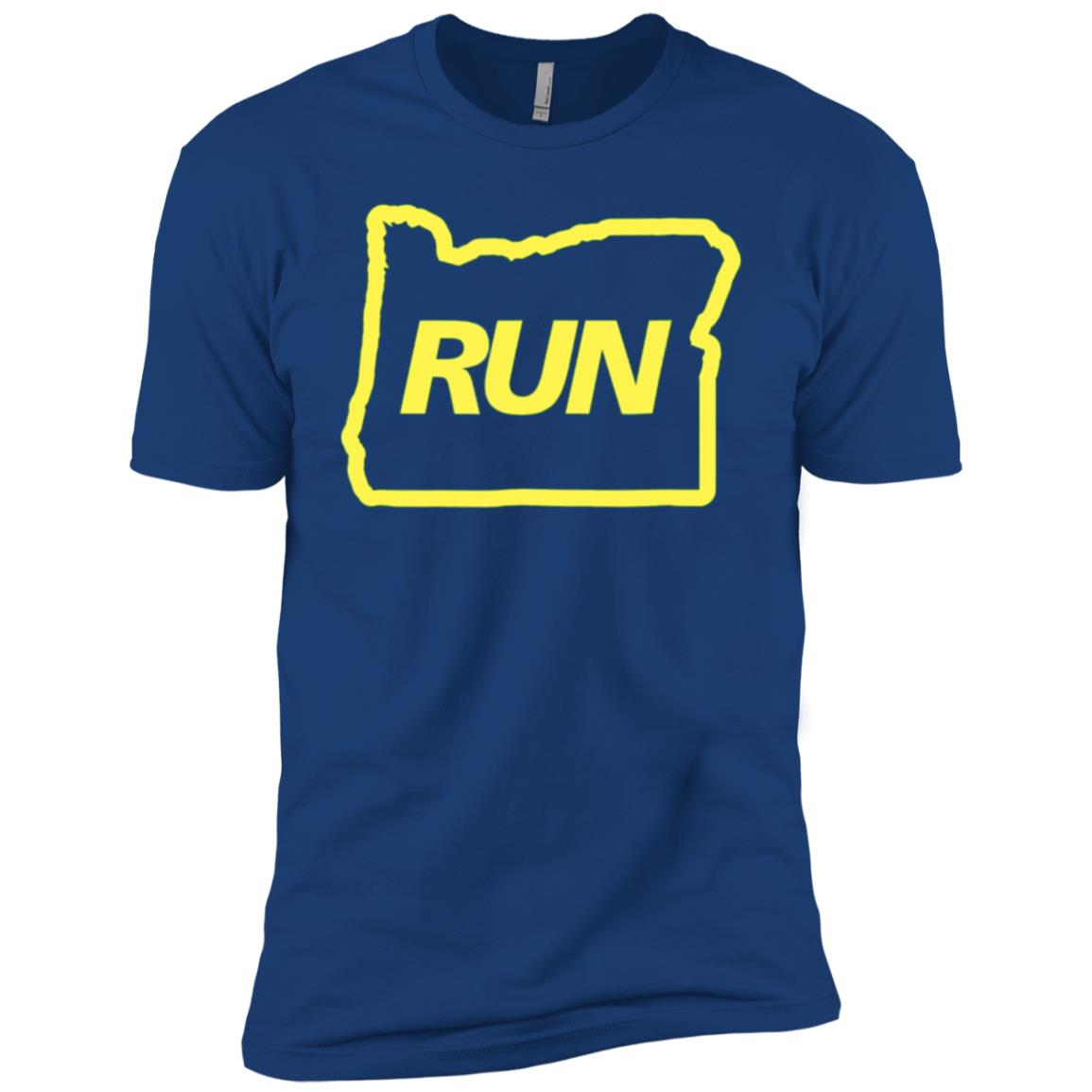 Run Oregon Runner Men Short Sleeve T-Shirt