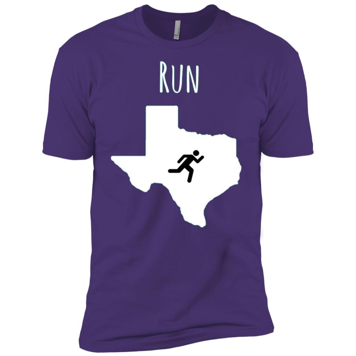 Run Texas, Runner Tee, Texas Running Men Short Sleeve T-Shirt