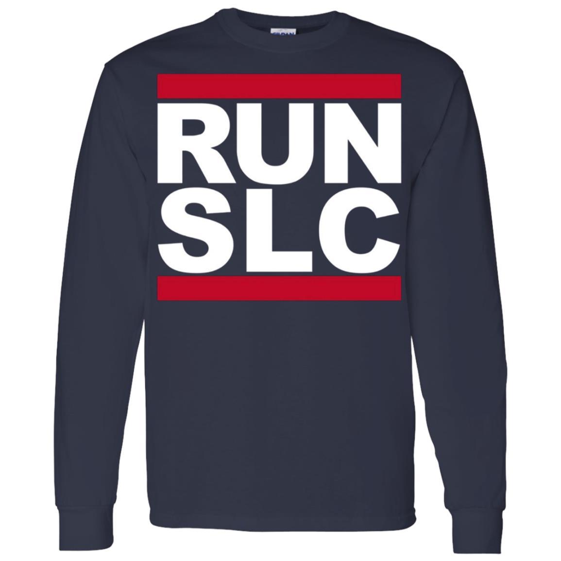 Run SLC – Salt Lake City Running for Runners Men Long Sleeve T-Shirt