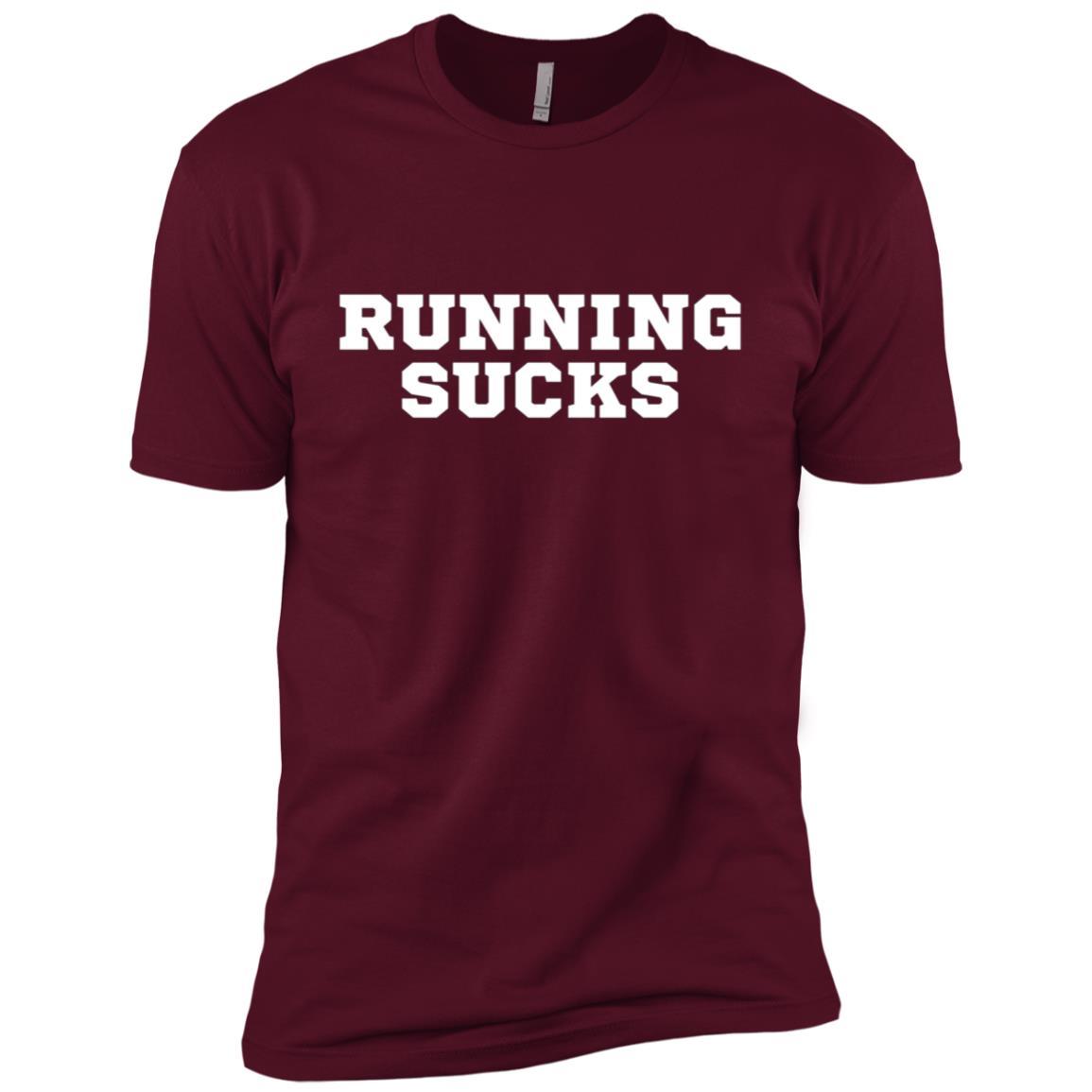 Running Sucks Funny Workout Men Short Sleeve T-Shirt