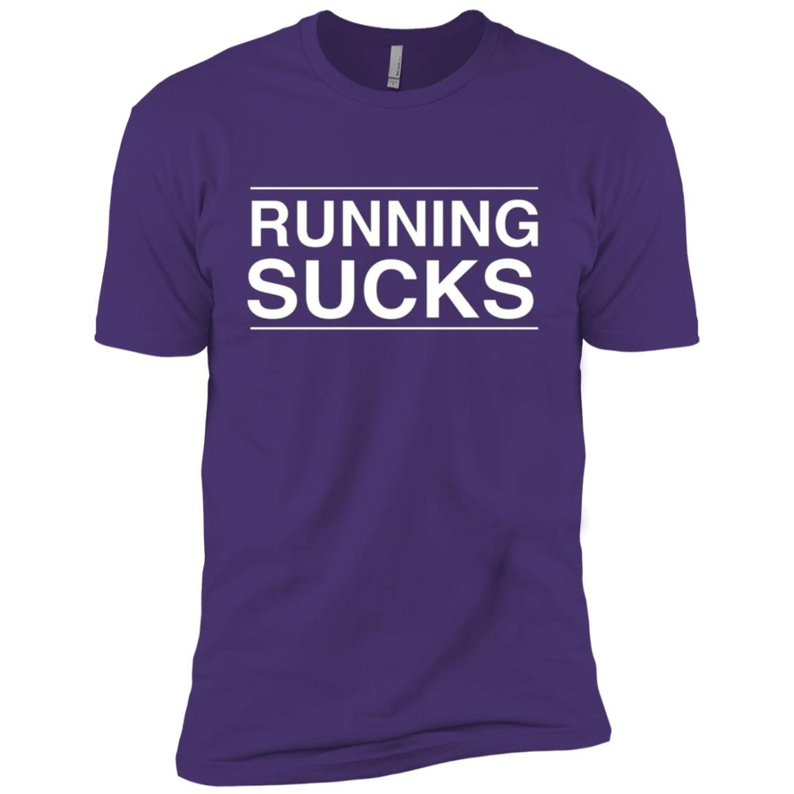 Running Sucks Men Short Sleeve T-Shirt