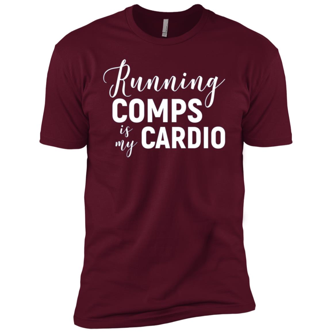 Running Comps is My Cardio Funny Realtor Men Short Sleeve T-Shirt