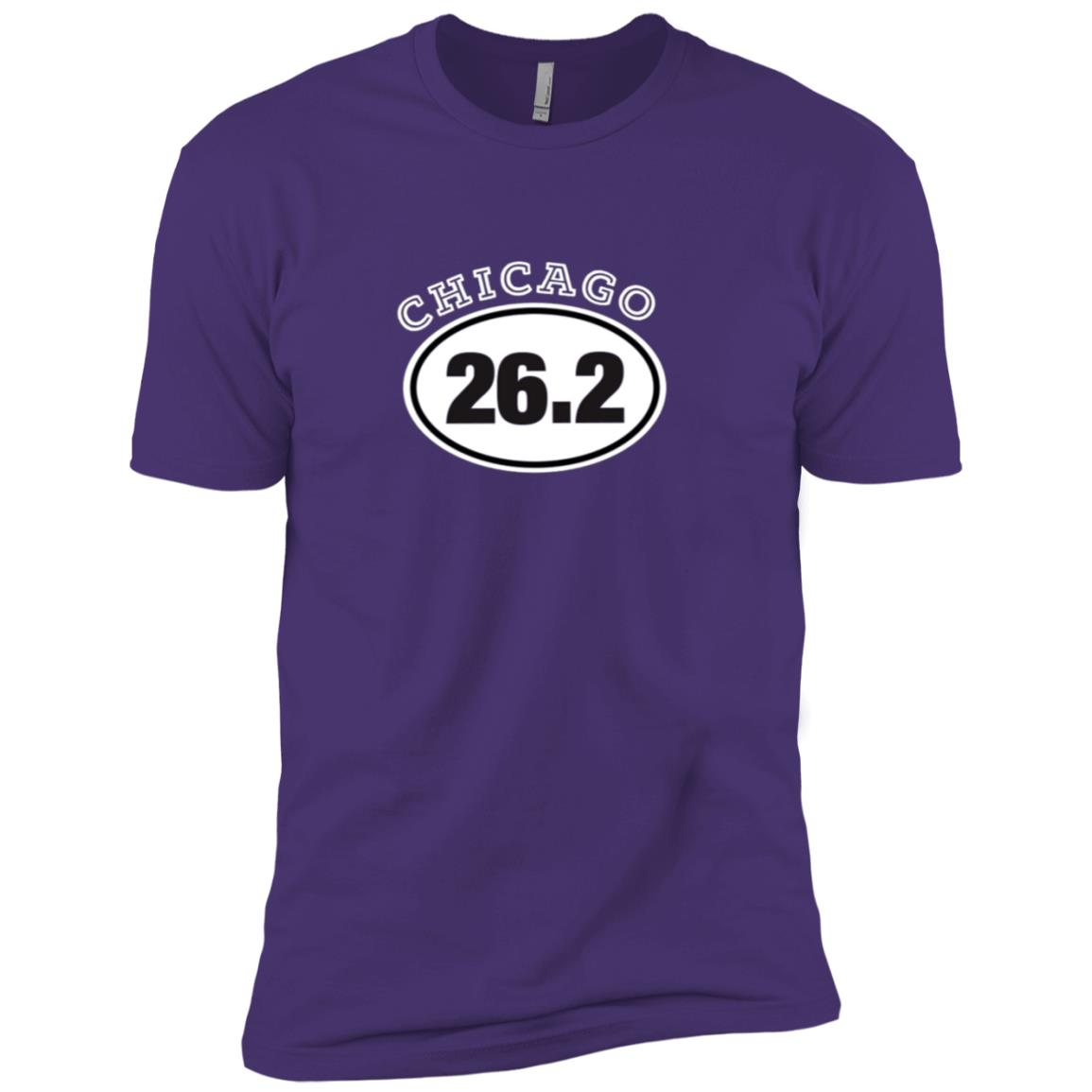 Chicago 26.2 Running Men Short Sleeve T-Shirt