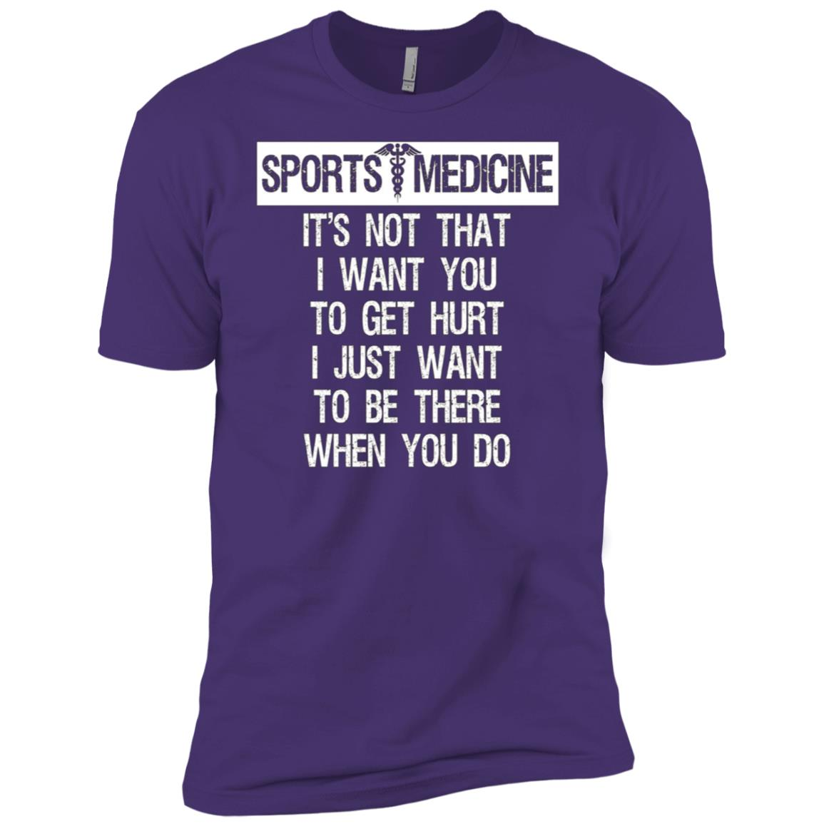 Sports Medicine Graphic Funny Men Short Sleeve T-Shirt