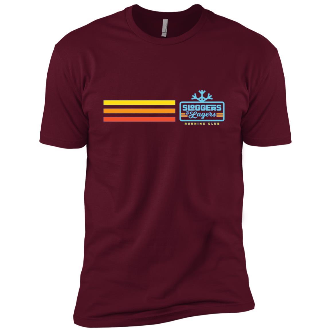 Sloggers & Lagers Running Club Men Short Sleeve T-Shirt