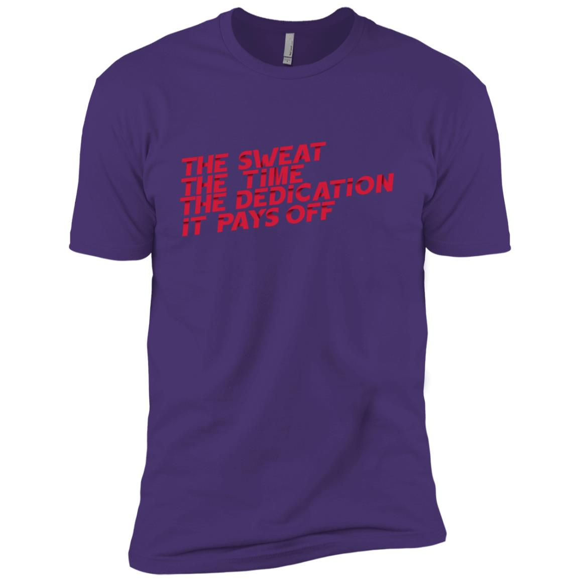 The Sweat The Time The Dedication Men Short Sleeve T-Shirt