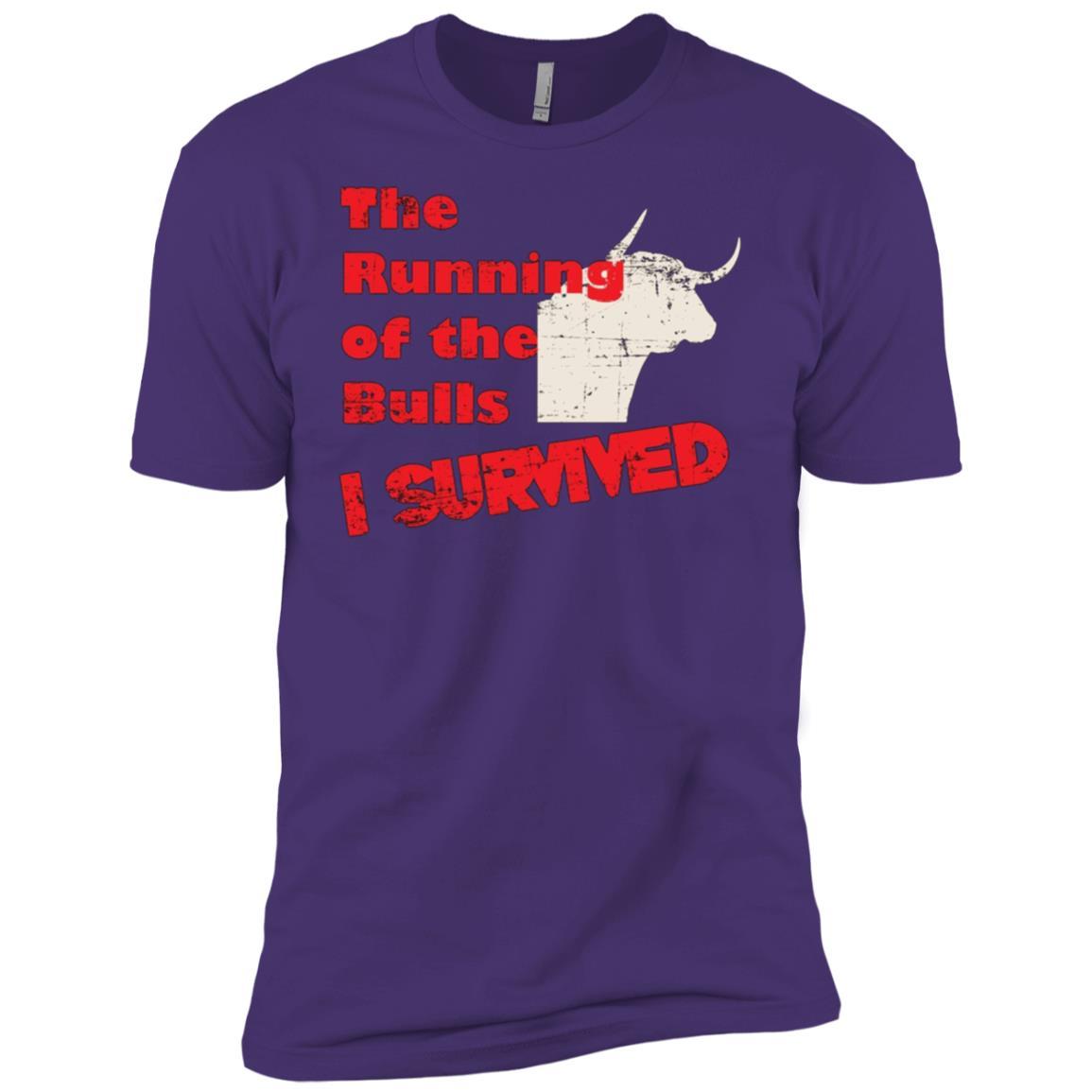 The Running of the Bulls Men Short Sleeve T-Shirt