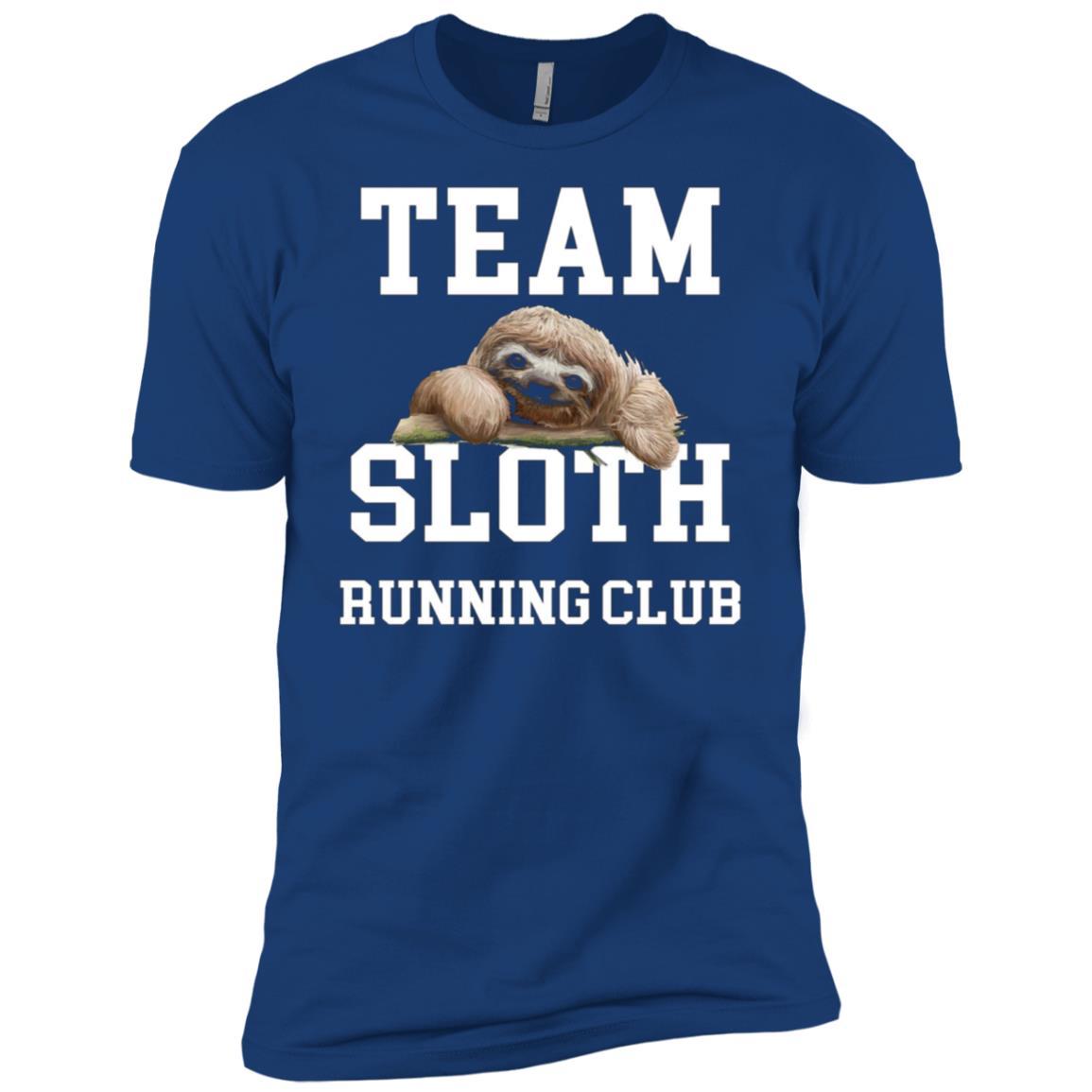 Team Sloth Running Club Men Short Sleeve T-Shirt