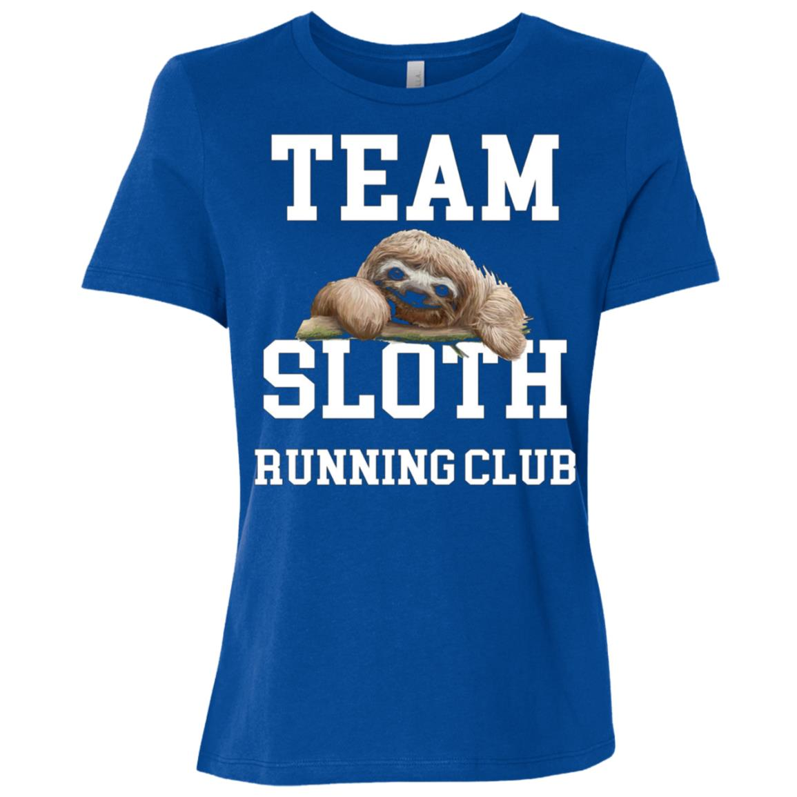 Team Sloth Running Club Women Short Sleeve T-Shirt