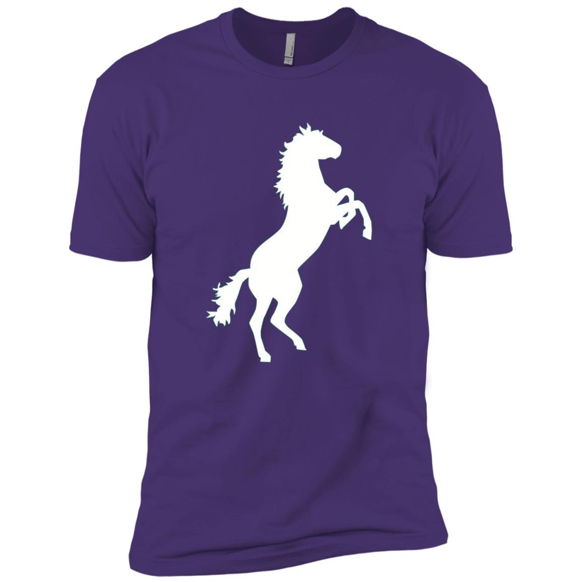 Wild horse Men Short Sleeve T-Shirt