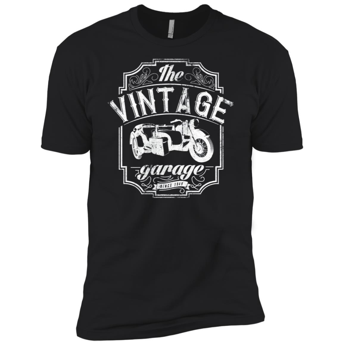 Vintage Motorcycle Sidecar Bike Rider Men Women Men Short Sleeve T-Shirt