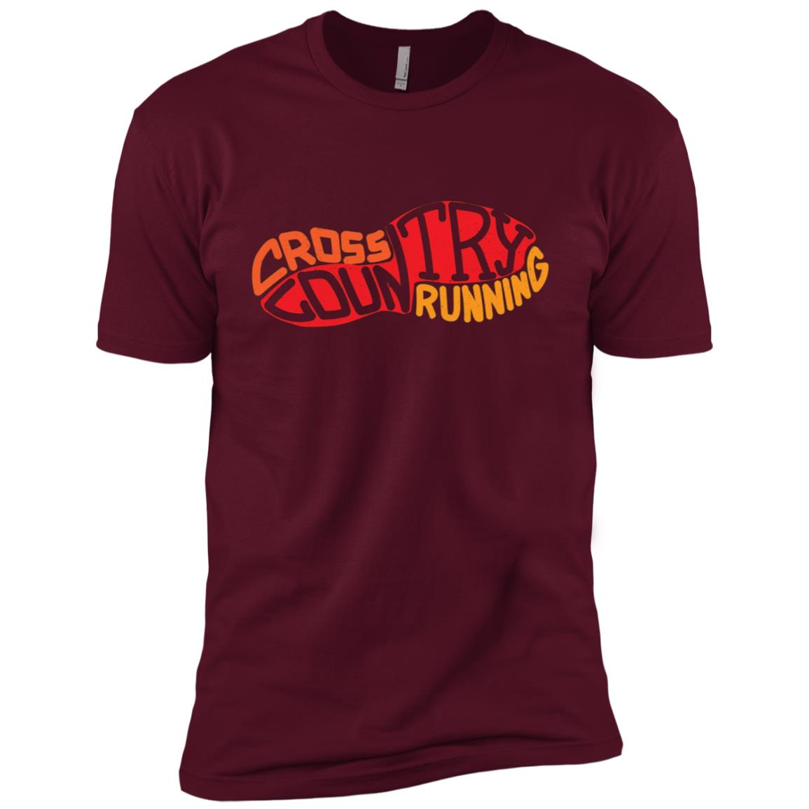 XC Runner Cross Country Runners Training Men Short Sleeve T-Shirt