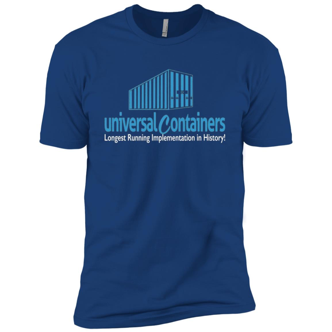 UnisexForce Universal Containers CRM Men Short Sleeve T-Shirt