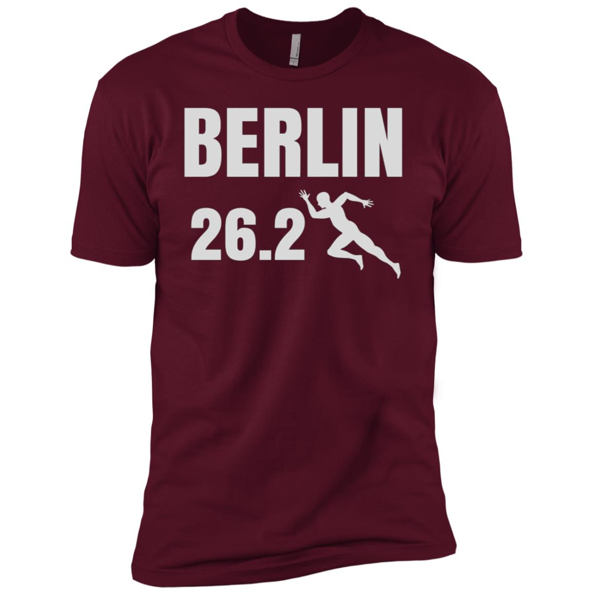 Berlin 26 Miles Marathon Running for Men and Women Men Short Sleeve T-Shirt