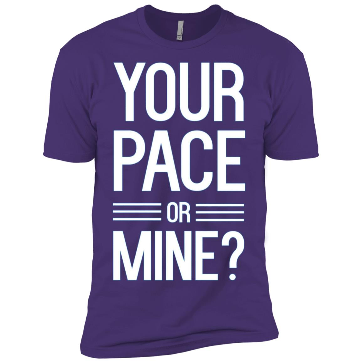 Your pace or mine runner Men Short Sleeve T-Shirt