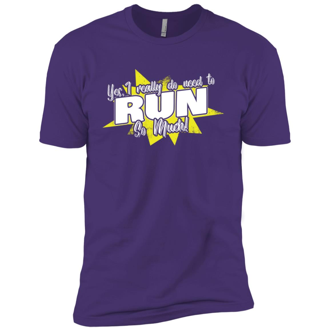 Yes I Really Do Need To Run So Much Men Short Sleeve T-Shirt