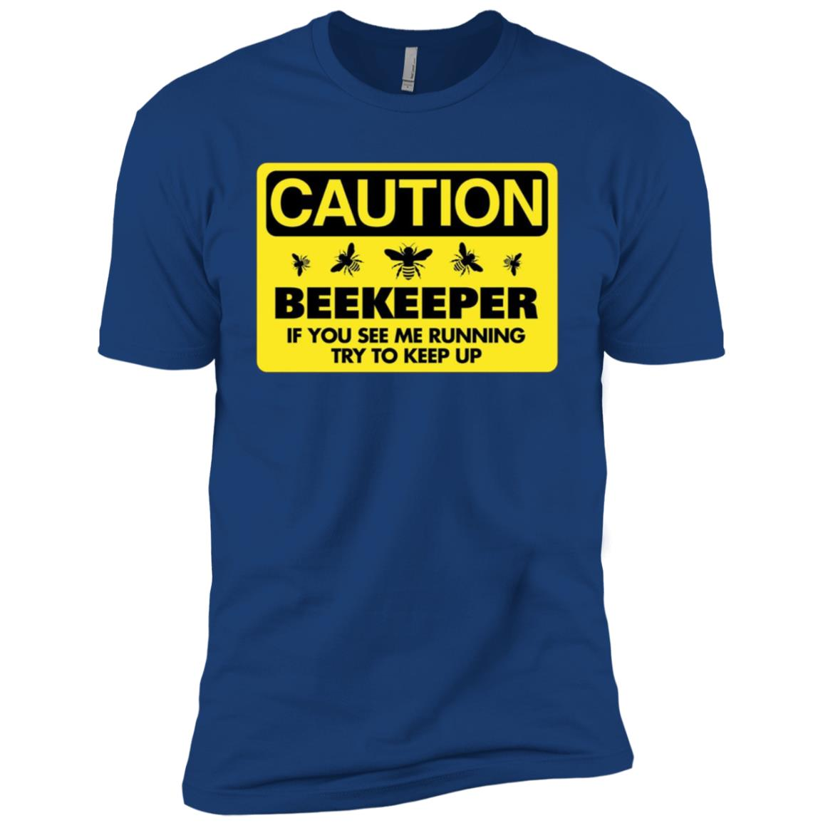 Beekeeper Beekeeping If You See Me Running Tee Men Short Sleeve T-Shirt
