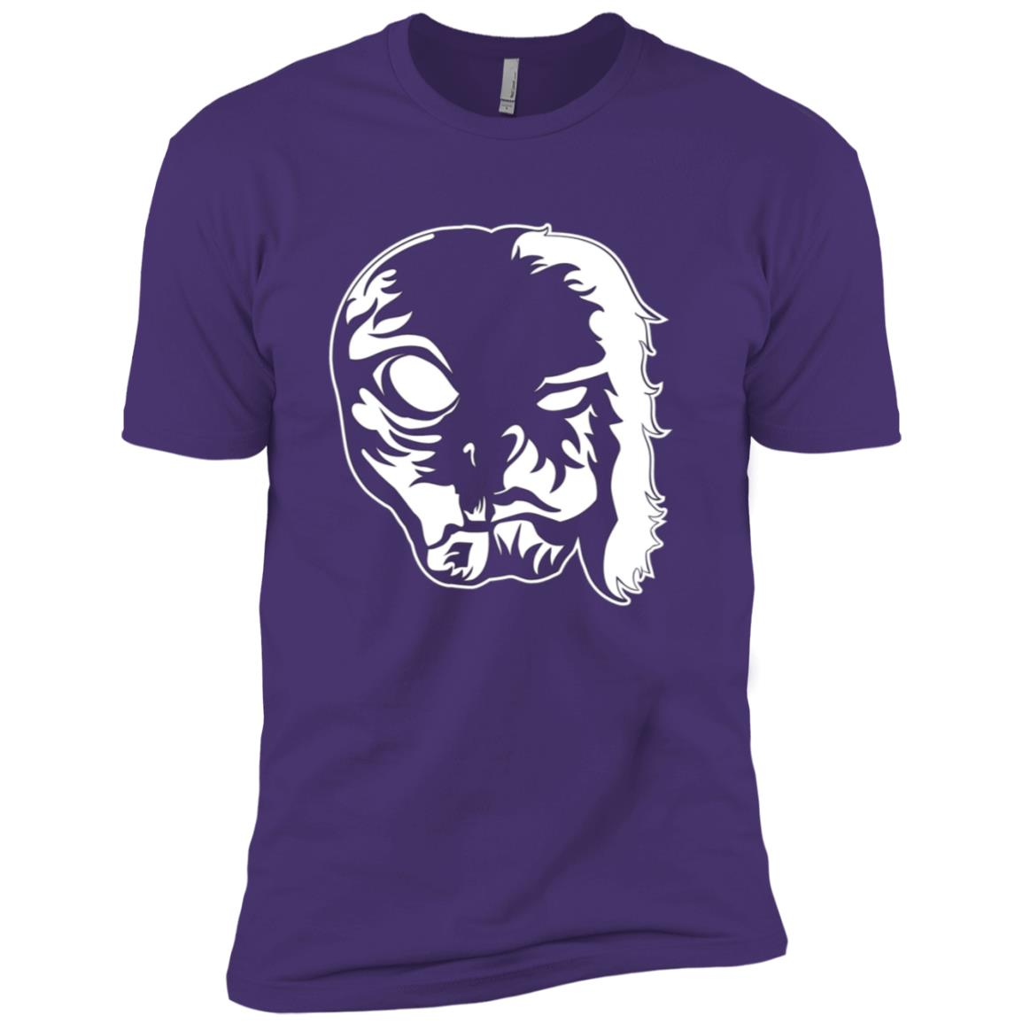Aliens UFO and Bigfoot LS join forces Funny Believe-2 Men Short Sleeve T-Shirt