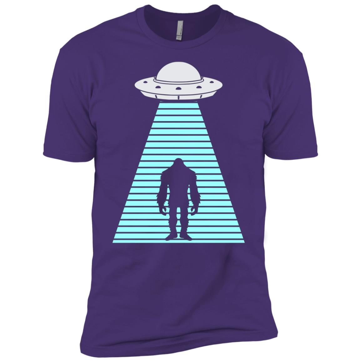 Alien Bigfoot Abduction Men Short Sleeve T-Shirt