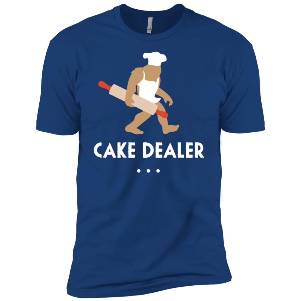 Baking Bigfoot Cake Dealer Baker Gift Men Short Sleeve T-Shirt